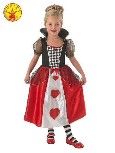 QUEEN OF HEARTS COSTUME, CHILD - ToyRoo