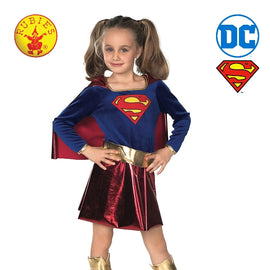 SUPERGIRL DELUXE COSTUME, CHILD