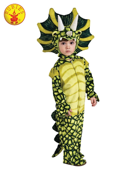 TRICERATOPS DINOSAUR COSTUME, CHILD ( 3-4 YRS )