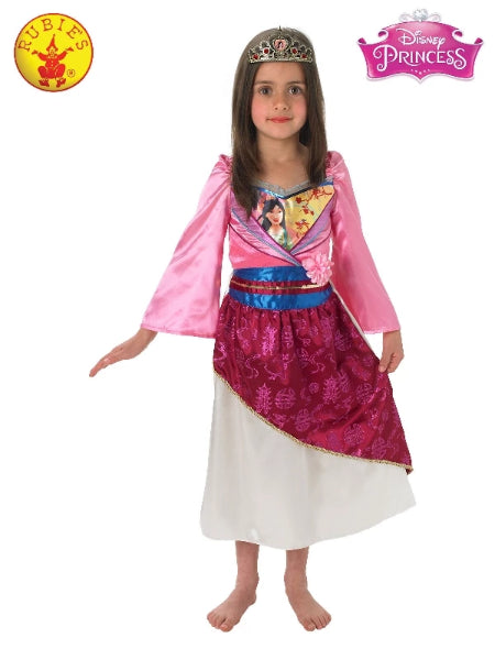 MULAN SHIMMER DELUXE COSTUME, CHILD-LICENSED COSTUME - ToyRoo