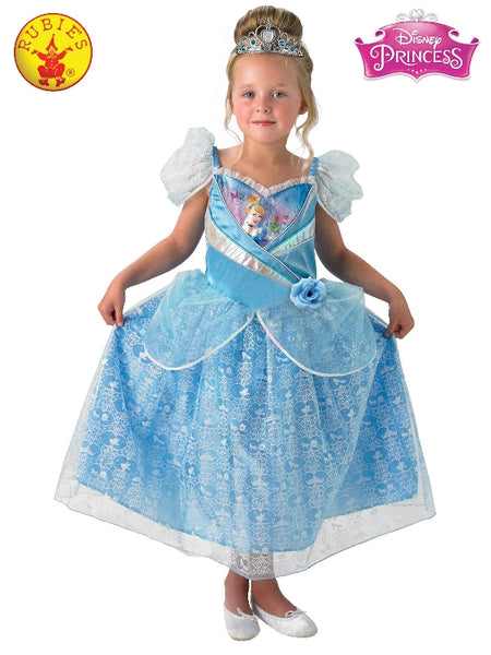 CINDERELLA SHIMMER CLASSIC COSTUME, CHILD - LICENSED COSTUMES