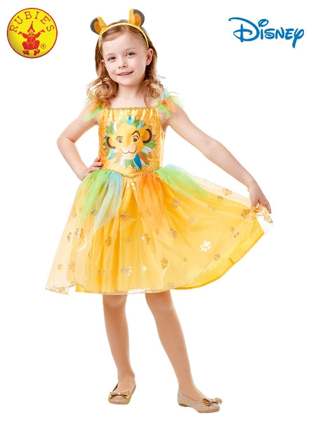 SIMBA DELUXE TUTU DRESS, CHILD - SIZE(4-6 YRS) LICENSED COSTUME - ToyRoo