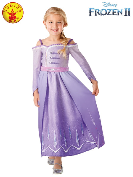 ELSA FROZEN 2 PROLOGUE COSTUME, LICENSED COSTUMES (SIZE 4-6)