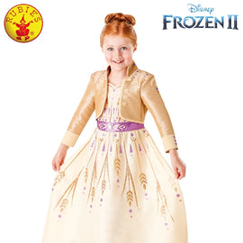 ANNA FROZEN 2 PROLOGUE COSTUME, CHILD - Licensed Costumes ( Size 4-6 yrs)