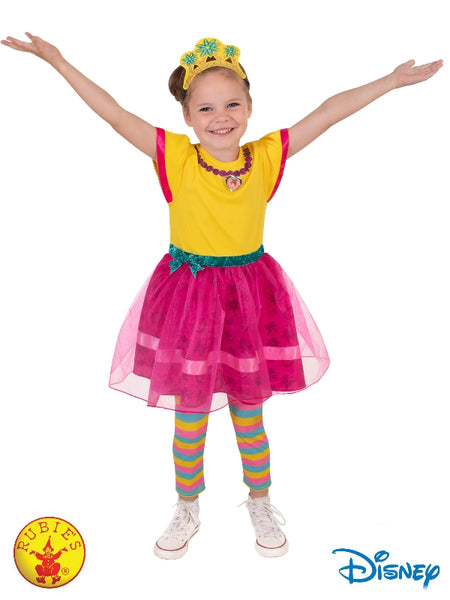 FANCY NANCY DELUXE COSTUME, CHILD