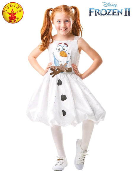OLAF FROZEN 2 TUTU DRESS, CHILD- LICENSED COSTUMES (4-6 YRS)
