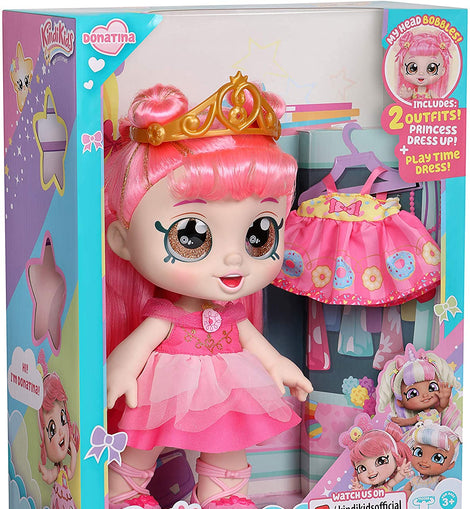 Shopkins Kindi Kids Dress Up Friends - Donatina Princess, Multicolor
