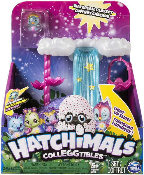 Hatchimals Colleggtibles Series 4 Show how you Glow Wishing Waterfall