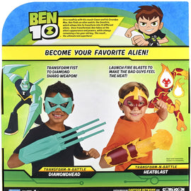 Ben 10 Role Play Transform n Battle Heatblast Gauntlet & Mask