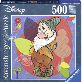 Ravensburger  - Disney Bashful Puzzle 500pc Square Jigsaw Puzzle