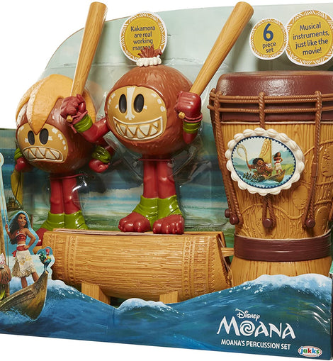 Disney Moana's 6-Piece Percussion Set