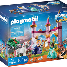 Playmobil Marla and Robotitron in Fairytale Palace Playset 162 pc - 70077