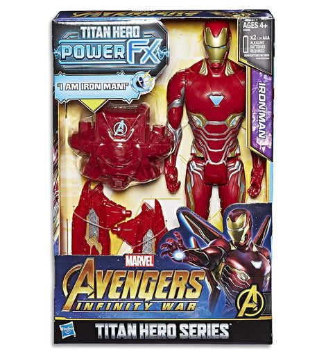 Marvel AVENGERS - Iron Man - Titan Hero Power FX Action Figure - Kids Super Hero Toys