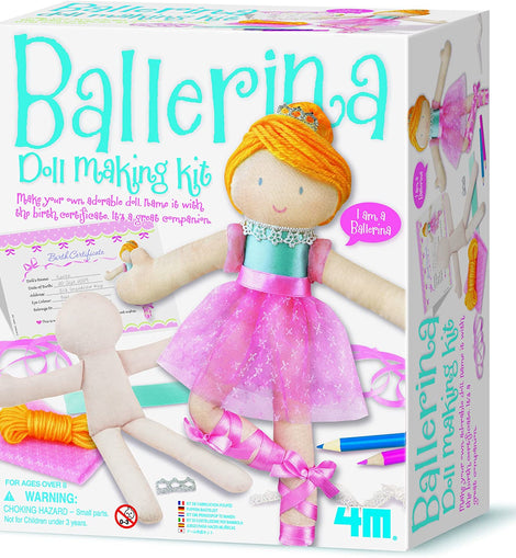 4M - BALLERINA DOLL MAKING KIT