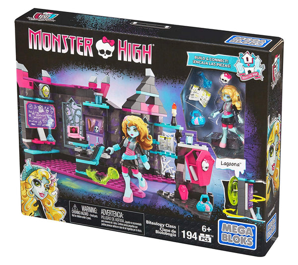 Mega Construx Monster High Mad Biteology Class Building Set - ToyRoo