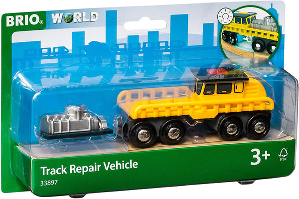 BRIO Vehicle - Track Maintenance Vehicle Train Accessory (33897)
