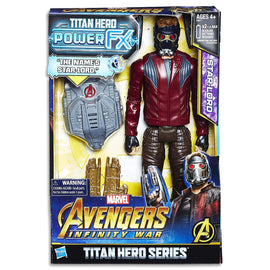 Marvel AVENGERS - Star Lord - Titan Hero Power FX Action Figure - Kids Super Hero Toys