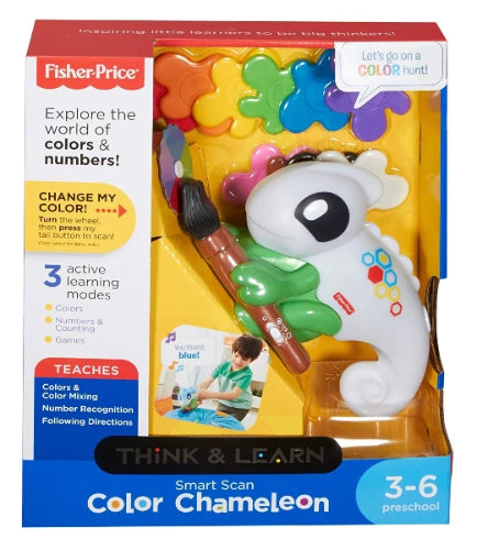 Fisher-Price Think & Learn Smart Scan Colour Chameleon - ToyRoo