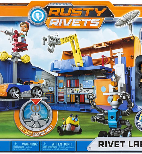 Nickelodeon Rusty Rivets RUR PYS Rivets Lab Playset GBL Toy
