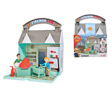 Fireman Sam Foldable Playset - Ocean Rescue Centre - Mountain Activity Centre - Dilys Shop