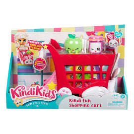 Shopkins Kindi Kids Kindi Fun Shopping Cart Playset - ToyRoo