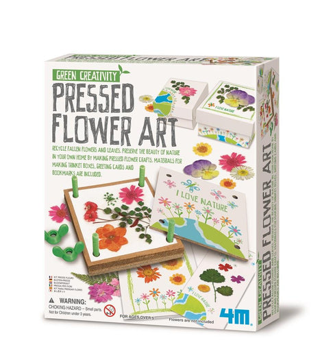 4M Pressed Flower Art Kit