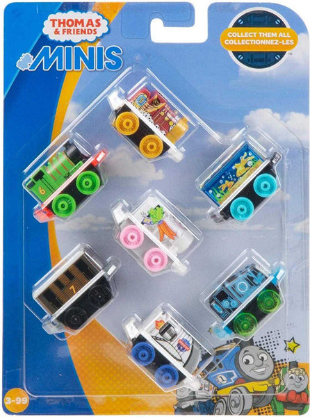 Thomas and friends Minis 7 pk