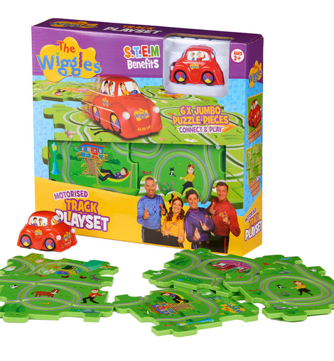 The Wiggles Motorised Track Playset