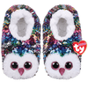 TY Beanie Boo Owen - Slipper Socks -  Colour changing reversible sequins - Small/Medium/Large