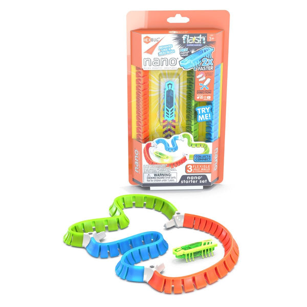 HEXBUG nano Flash Starter Set (Assorted Colours)