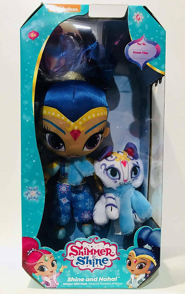 Nickelodeon Shimmer And Shine - Winter Gift Pack Shine And Nahal - ToyRoo
