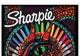 NEW Sharpie Dragon Fine Point Permanent Markers 18 Pack