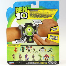 Ben 10 Omnitrix Role Play Watch with Lights & Sounds - 40+ Alien Phrases & SFX - ToyRoo