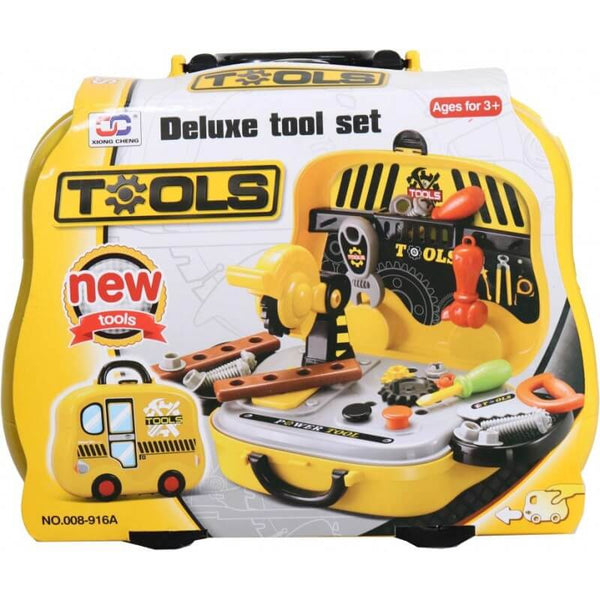 Tool Set With Wheely Carry Case