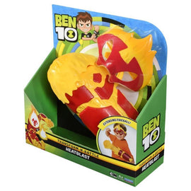 Ben 10 Role Play Transform n Battle Heatblast Gauntlet & Mask - ToyRoo