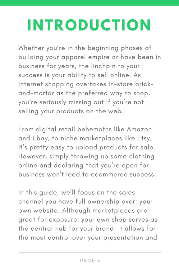 A Kick-Ass Guide to Apparel eCommerce