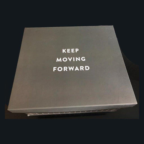 Image of The Keep Moving Forward Luxury Gift Box. One of Our Most Popular Womens Gifts-regency gift store-Regency Gift Store