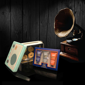 Mens Retro Radio Gift. Perfect Valentines Gifts for him.