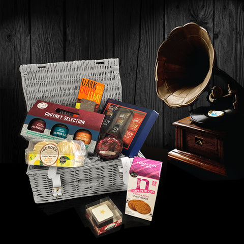 Image of Men Love Their Treats Gift Basket. Wonderful Gifts for Men