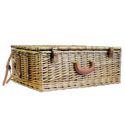 Image of The Regal Wicker 4 Person Picnic Basket-regency gift store-Regency Gift Store