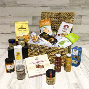 The Lancaster Luxury Gourmet Gift Basket. Gift Baskets for Women, the Perfect Choice-regency gift store-Regency Gift Store