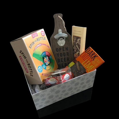Image of Spinning Box for Men Gift. Fabulous Valentines Gifts for Men