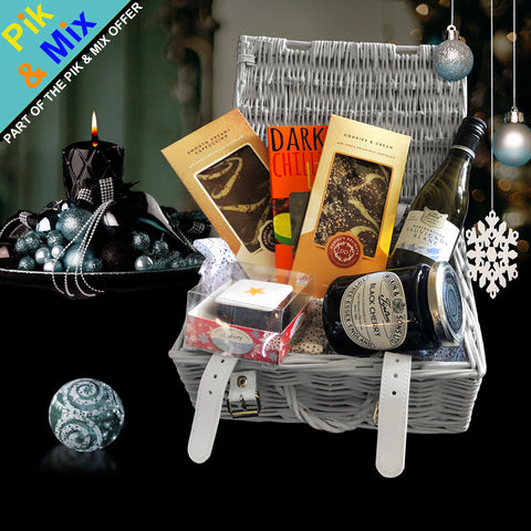 Image of The Luxury Christmas Gift Basket.  A great gift for the Holiday Season.