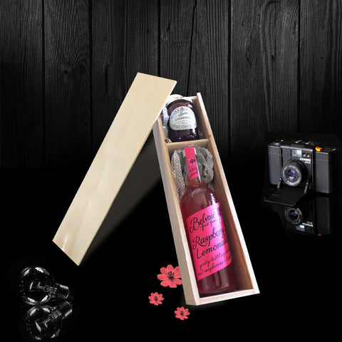Image of The Burley Bottle & Gift Box. A Perfect Non-Alcoholic Gift.