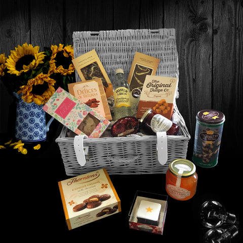 Image of The Henderson Gift Basket.  A perfect luxury gift for women.