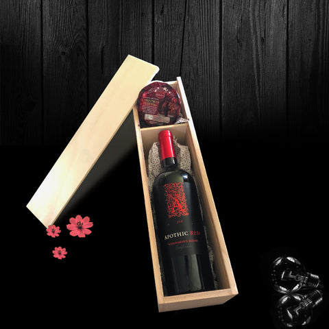 Image of The Kirkwood Bottle & Gift Box. A Perfect Corporate Gift for Clients and Employees.