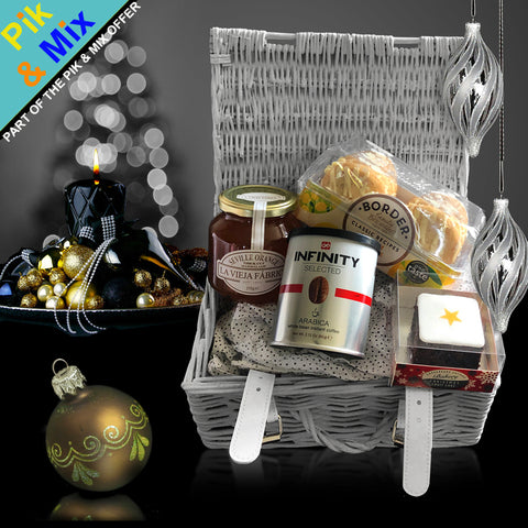 Image of The So Very Thankful Gift Basket.  A lovely Thanksgiving Gift Basket for the Fall.