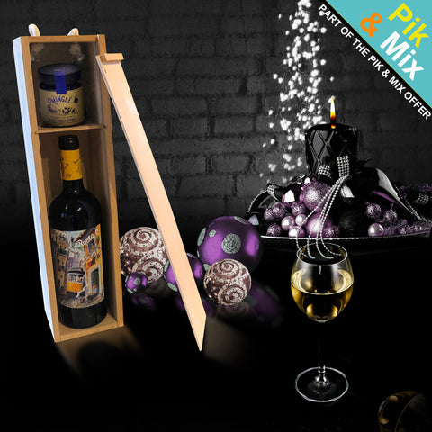 Image of The Olympia Wine Gift Box.  A Part of Our Pik & Mix Collection.
