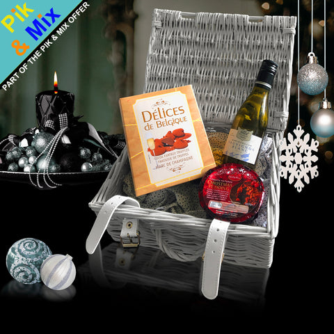 The Parker Gift Basket.  A Perfect Corporate Gift for Clients and Employees.