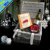 The Deluxe Holiday Gift Basket.  Festive gifting for the holiday season.
